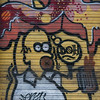 Graffiti of Rome (May 11) : As soon as you enter Rome on the ride from the airport, you are thrown back into the 70's and 80's in NYC.  Seemingly every building is covered with graf.  Unfortunately, much of it was unimaginative tagging and basic throw-ups.  I only saw a few murals that were really nice (as opposed to Prague).  I was only there for a day (after an overnight flight), so I shot what I could and snapped a few others on the ride back to the airport.  Next time, I put some effort into really capturing what the bomber have done in Rome.  Enjoy.