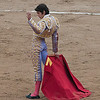 Barcelona Bullfight (Jul 11) : After striking out in Valencia, we got  to Barcelona to find out that there was a Bullfight on our first night.  After a day of exploring the city, we ended with a cab ride over to Monumental for the big day.  The scene outside was chaotic because there were about 10 ticket windows and a flat out mob in front buying tickets.  Despite being cash-only, it moved really slow.  In the heat, tempers flared a bit.  Combine that with protesters, police and traffic and you have quite a scene.